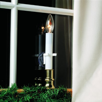 Candle Clamps For Windows Without Sills