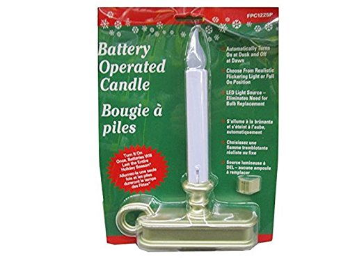 Battery Operated Christmas Window Candles With Timer - Christmas ...