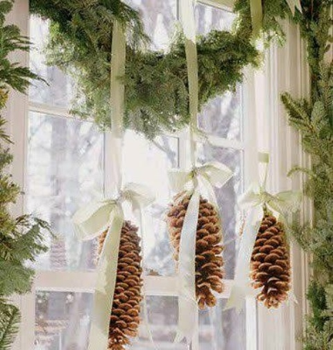 christmas window decoration ideas - Christmas Window Decorations